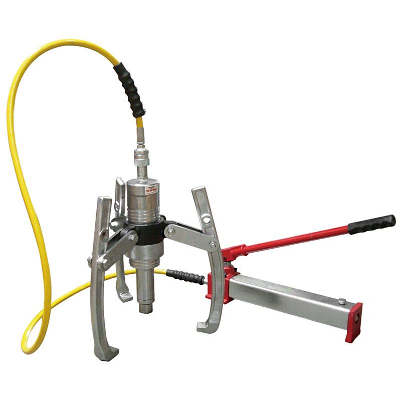 Gear Wheel Puller : Separable hydraulic gear wheel puller wipro